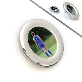 Field Hockey Lapel Pin Your Field Hockey Photo