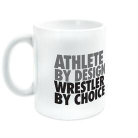 Wrestling Ceramic Mug Athlete By Design