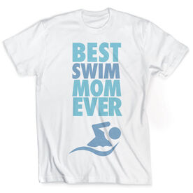 Vintage Swimming T-Shirt - Best Mom Ever