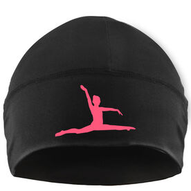 Beanie Performance Hat - Gymnastics Silhouette