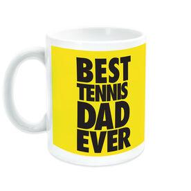 Tennis Ceramic Mug Best Dad Ever