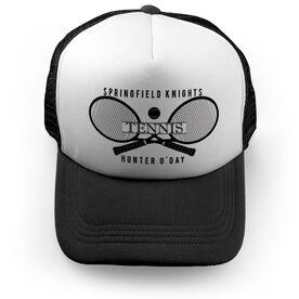 Tennis Trucker Hat - Personalized Crest