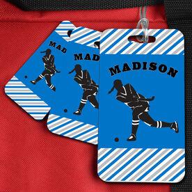 Field Hockey Bag/Luggage Tag Personalized Field Hockey Player