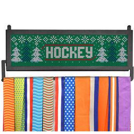 AthletesWALL Medal Display - Christmas Knit