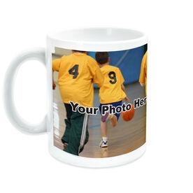 Basketball Ceramic Mug Thanks Coach Custom Photo