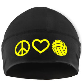 Beanie Performance Hat - Peace Love Volleyball