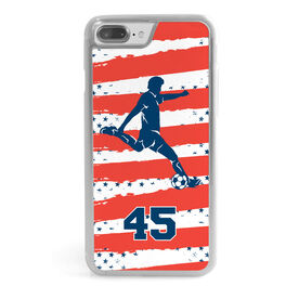 Soccer iPhone® Case - Personalized USA Player