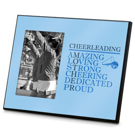 Cheerleading Photo Frame - Mother Words