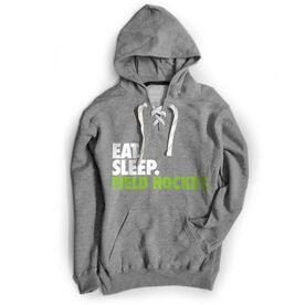 Field Hockey Sport Lace Sweatshirt Eat. Sleep. Field Hockey.