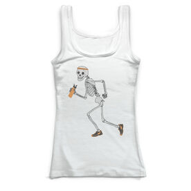 Running Vintage Fitted Tank Top - Never Stop Running