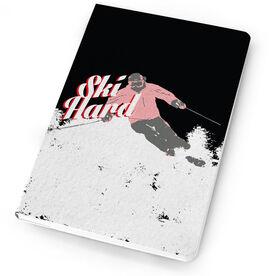 Skiing Notebook Ski Hard