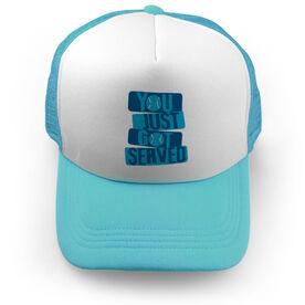 Tennis Trucker Hat You Just Got Served