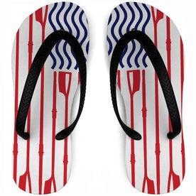 Crew Flip Flops American Flag