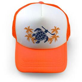 Hockey Trucker Hat Turtle