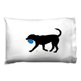 Ping Pong Pillowcase - Pongo The Ping Pong Dog