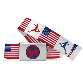 Soccer Lifestyle Belt Country Flag