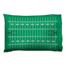 Football Pillowcase - Field