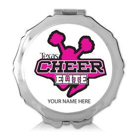 Custom Cheerleading Logo Compact Mirror (Round)