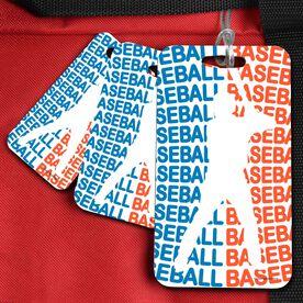 Baseball Bag/Luggage Tag All Baseball