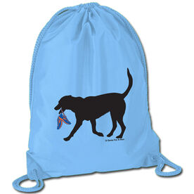 Running Sport Pack Cinch Sack Rex the Running Dog