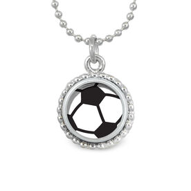 Soccer Ball SportSNAPS Necklace