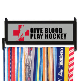 AthletesWALL Give Blood Medal Display