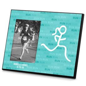 Running Photo Frame Run Run Run Stick Figure