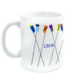 Crew Ceramic Mug Staggered Club Oars