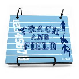 BibFOLIO® Race Bib Album - Track and Field Silos