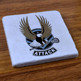 LAX Strong- Attack - Stone Coaster