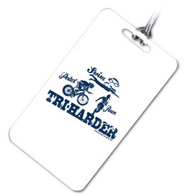 TRI Harder Sport Bag/Luggage Tag