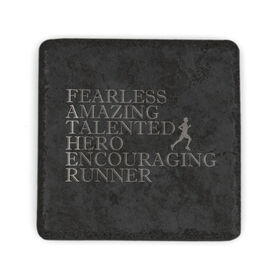Running Stone Coaster - Father Words