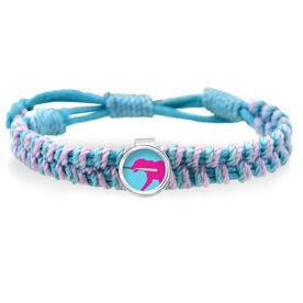 Mitts The Softball Dog Adjustable Woven SportSNAPS Bracelet