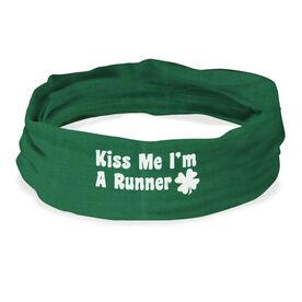 RokBAND Multi-Functional Headband - Kiss Me Shamrock Runner