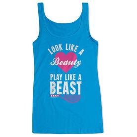 Tennis Women's Athletic Tank Top Look Like A Beauty Play Like A Beast