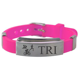 Tri Silicone Bracelet