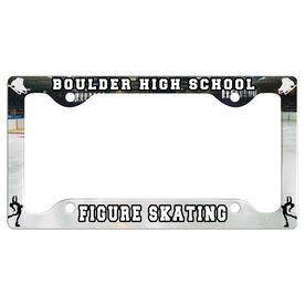 Custom Figure Skating Team License Plate Holders