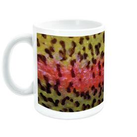Fly Fishing Ceramic Mug Rainbow Trout