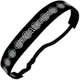 Football Julibands No-Slip Headbands - Personalized Football Stripe Pattern