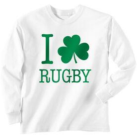 Rugby Tshirt Long Sleeve I Shamrock Rugby