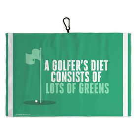 Golf Bag Towel Golfers Diet