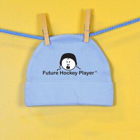 Future Hockey Player Baby Cap
