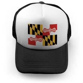 Lacrosse Trucker Hat - Maryland
