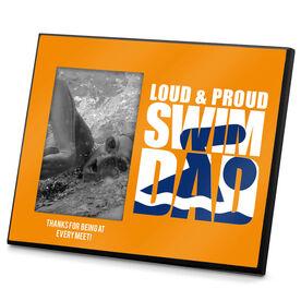 Swimming Photo Frame Loud & Proud Swim Dad