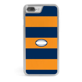 Rugby iPhone® Case - Rugby Ball Stripe