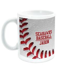 Baseball Ceramic Mug Vintage Team Ball