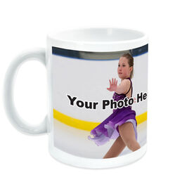 Figure Skating Ceramic Mug Custom Photo