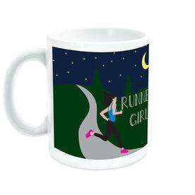 Running Ceramic Mug Runner Girl