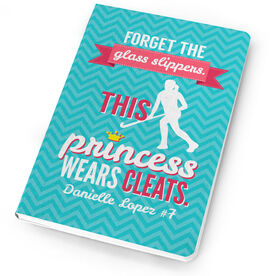 Field Hockey Notebook This Princess Wears Cleats