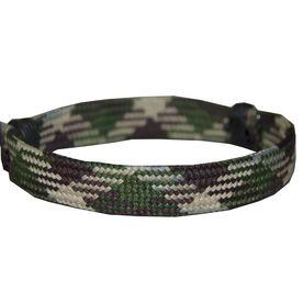 Hockey Lace Bracelet Camo Adjustable Wrister Bracelet